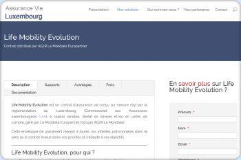 Cliquez pour visiter la page life mobility evolution.