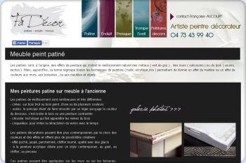 Cliquez pour visiter la page Patines de Fadécor - Décoration intérieure Clermont Ferrand.