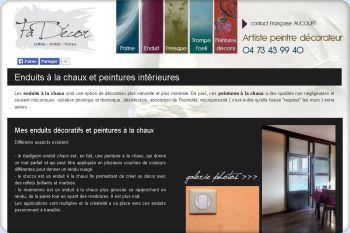 Cliquez pour visiter la page Enduits de Fadécor - Décoration intérieure Clermont Ferrand.