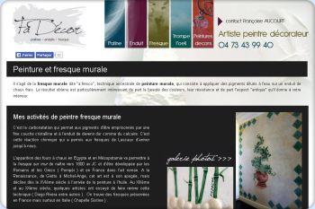 Cliquez pour visiter la page Fresques de Fadécor - Décoration intérieure Clermont Ferrand.