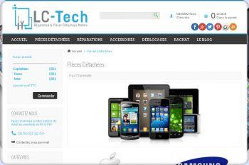 Cliquez pour visiter la page Pièces Détachées Mobile : Apple, Samsung, Nokia, HTC....