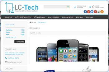 Cliquez pour visiter la page Réparation Mobile : Apple, Samsung, Nokia, HTC, Blackberry.