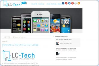 Cliquez pour visiter la page LC-TECH : Le Blog.