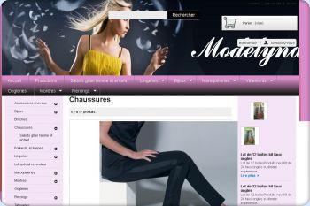 Cliquez pour visiter la page Chaussures.