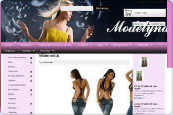 Cliquez pour visiter la page Vêtements.