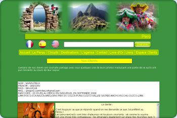 Cliquez pour visiter la page Clients.