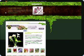 Cliquez pour visiter la page Les fleurs pour bouquets.