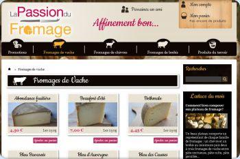 Cliquez pour visiter la page Fromages au lait de vache.