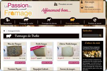 Cliquez pour visiter la page Fromages au lait de brebis.