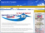 La vignette du site Apprendre l'anglais plus facilement, support audio et coaching