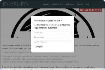 Cliquez pour visiter la page Agence Wordpress.