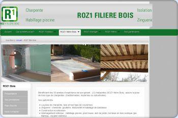 Cliquez pour visiter la page ROZ1 filière Bois.