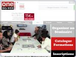 La vignette du site One Big Web centre de formation web