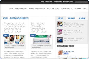 Cliquez pour visiter la page Informations sur les médicaments minceur.