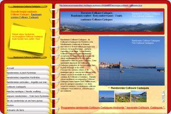 Cliquez pour visiter la page Randonnée Collioure Cadaques.