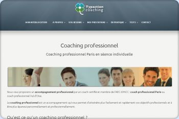 Cliquez pour visiter la page Coaching professionnel .