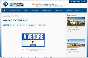 Cliquez pour visiter la page Agence immobilière à Aix en Provence.