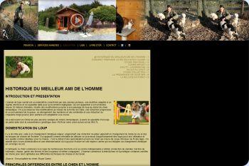 Cliquez pour visiter la page L'éducation du chiot et du chien.