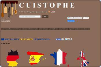 Cliquez pour visiter la page Spécialités culinaires européennes.
