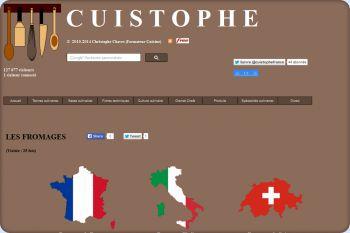 Cliquez pour visiter la page Les fromages .
