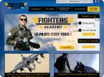La vignette du site Fighters Academy : Simulateur de vol