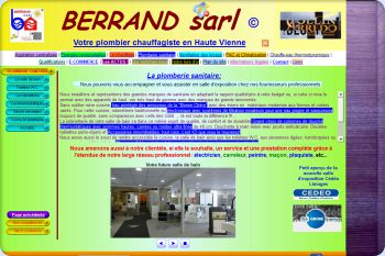 Cliquez pour visiter la page Plomberie sanitaire, débouchage, entretien de canalisations d'eau, réparation de fuite d'eau à Verneuil sur Vienne, 87430.