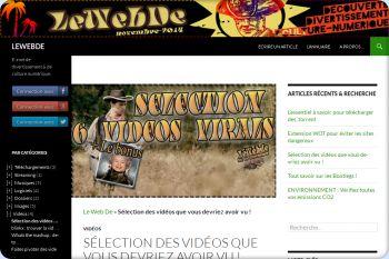 Cliquez pour visiter la page Selections de vidéos virals.
