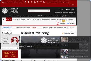 Cliquez pour visiter la page Notre école de Trading.