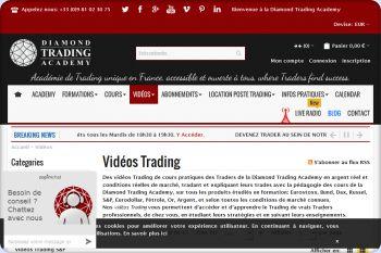 Cliquez pour visiter la page Nos vidéos de Trading.