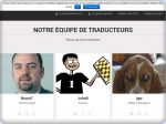 La vignette du site WP Traduction