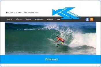 Cliquez pour visiter la page Pagaies Korvenn SUP.