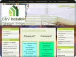 La vignette du site C&V Isolation