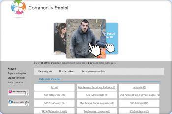 Cliquez pour visiter la page Offre d'emplois par catégorie.