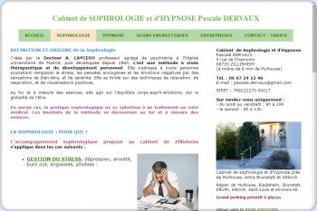 Cliquez pour visiter la page LA SOPHROLOGIE POUR QUI ?.