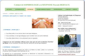 Cliquez pour visiter la page L'HYPNOSE appliquée à l'arrêt du tabac.