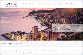 Cliquez pour visiter la page Détective privé Monaco.