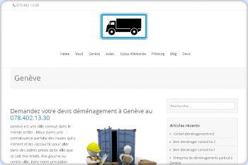 Cliquez pour visiter la page Déménagement Genève.