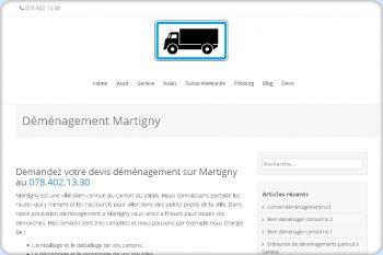 Cliquez pour visiter la page Déménagement Martigny.
