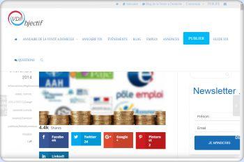 Cliquez pour visiter la page  règles de cumul de revenus avec un Statut VDI.