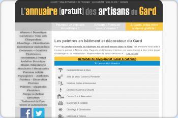 Cliquez pour visiter la page Peintre à Nimes, Alès et Bagnols sur Cèze (Gard) - Décorateur d'intérieur Nimes.
