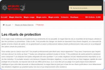 Cliquez pour visiter la page Rituels de protection .