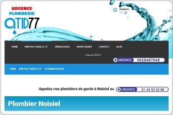 Cliquez pour visiter la page Plombier Noisiel.