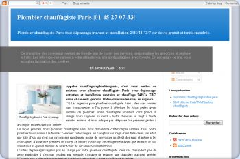 Cliquez pour visiter la page Search Plombier Paris.