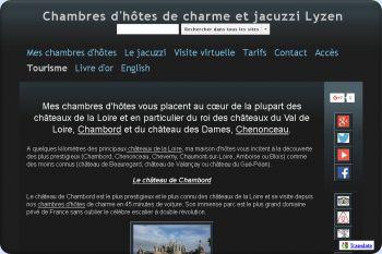 Cliquez pour visiter la page Les châteaux de la Loire.