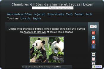 Cliquez pour visiter la page Zooparc de Beauval.