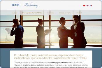 Cliquez pour visiter la page Des conseillers en investissement entre la France et la Chine.