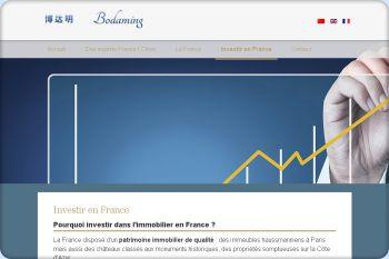 Cliquez pour visiter la page Pourquoi investir en France.