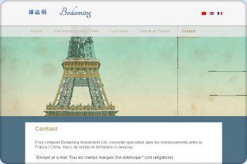 Cliquez pour visiter la page Contacter un consultant en investissement France/Chine.