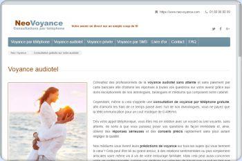Cliquez pour visiter la page Voyance audiotel serieuse sans attente et gratuite sans CB.