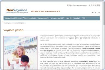 Cliquez pour visiter la page Voyance privée par téléphone avec consultation en ligne et sérieuse.